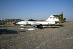 RF104G  FG662 (TF102A) Tags: aviation aircraft greekairforce tanagra f104 starfighter