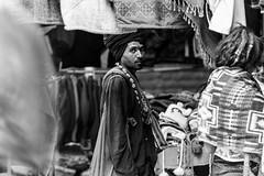 Stalking a Sadhu (DSF_9072) (Param-Roving-Photog) Tags: sadhu yogi baba aghori hindu intrigue thought expression shops oldmanali himachal market alms bhiksha streetphotography blackandwhite monochrome bw nikond750 nikkor70200f28