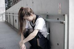 _MG_3522 (Neil Photo Studio) Tags:                     2015 6d 35mm ef35mmf2o ef35mmf20               taipei taiwan canon taiwanuniversity nationaltaiwanuniversity ntu model mrt portraits primelens prime lens socks longsocks long uniform