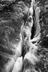 (bon__007) Tags: groenlandia greenland crepaccio crevass ghiaccio ice ghiacciaio glacier monochrome