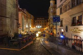 Street corners of Prague