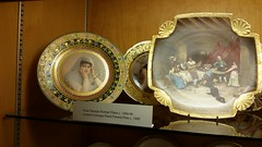 Plates (Terry Hassan) Tags: usa florida miami palmbeach flaglermuseum whitehall mansion museum display plate german historic picture painting turkishlady