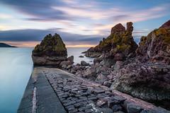 Crumbling (Ian Allon) Tags: saintabbs scotland unitedkingdom gb longexposure coast rocks jetty outdoors clouds leefilters bigstopper