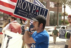 Paul Supporter (Yakin669) Tags: usa elephant america tampa liberty democracy cops florida secret military isaac deputy national convention service conservative sheriff press republican obama lawenforcement journalism gop rnc tropicalstorm hurrican protestors 2012 hillsborough republicannationalconvention ronpaul mittromney grandoldparty rnc2012 yakin669