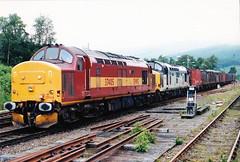 37405-37409 at crianlarich (47604) Tags: whl ews crianlarich westhighlandline class37 37282 37270 37409 37405 transrail