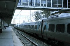 "Acela passing BWI Rail Station • <a style=""font-size:0.8em;"" href=""http://www.flickr.com/photos/59137086@N08/7895774806/"" target=""_blank"">View on Flickr</a>"