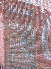 Coca-Cola Ghost Sign, Memphis, TN (Robby Virus) Tags: brick sign wall memphis tennessee ghost coke delicious faded cocacola refreshing fatigue relieves