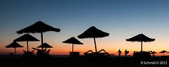 Caparica (smashingraph) Tags: sunset beach portugal surf surfer playa plage contrejour