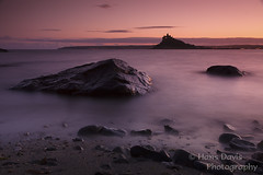 Fading light in Mounts bay (Sadloafer (Hans)) Tags: city sunset sea england cliff colour castle history nature water silhouette rock vertical mystery skyline landscape outdoors photography bay ancient horizon hill nopeople coastline spirituality thepast stmichaelsmount daydreaming penzance tranquilscene britishculture nationallandmark placeofinterest cornwallengland viewintoland builtstructure sadloaferhansdavisphotography