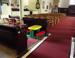 A Seat for everyone! (B..........) Tags: blue ireland red church flickr cork seat seats flickrcentral stanneschurch competitioncorner fourfacedliars takeaseatexplore