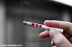 Lose a life, do not repsawn (That English Chap) Tags: life game bar hearts james video nikon eagle cigarette smoke bad smoking health zelda antismoking psa d5000