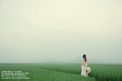 (nodie26) Tags: portrait sky people girl field tour rice paddy walk farm feel taiwan
