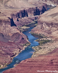 Colorado River, Eastern End of the Grand Canyon (Laveen Photography (aka cyclist451)) Tags: arizona water river grandcanyon az coloradoriver naturalwonder