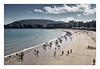 La Concha le matin (Gabi Monnier) Tags: mer beach canon landscape vacances spain flickr jour été paysage sansebastian espagne plage gens paysbasque atlantique océan saintsébastien traitement extérieur canoneos600d gabimonnier