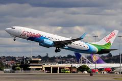 Air Vanuatu B737-800 YJ-AV1 (altinomh) Tags: plane airport aviation sydney australia nsw newsouthwales boeing syd spotting 737 b737 yssy