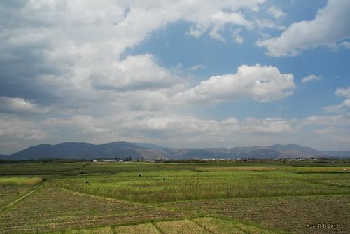 Countryside near Dali, Yunnan