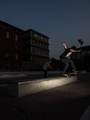 A shock to the waves I know (fedeskier) Tags: torino skateboarding skate skateboard session piazza turin fusi valdo