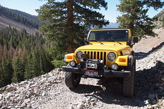 BumpNGo (Nick / KC7CBF) Tags: 2001 white mountain mountains green yellow creek jeep offroad 4x4 boulder basin idaho toyota land yj landcruiser cruiser tj wrangler bumpngo