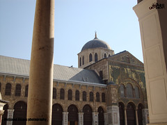 Omayyad Mosque in Damascus II (Mohanad Alsous  ) Tags: architecture worship muslim islam prayer culture mosque arabic arab syria historical oriental damascus islamic  mohanad omayyad                      alsous