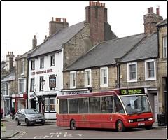Commercial Break (Bob Lear) Tags: barnardcastle optare optaresolo independentbuses yj55ygo scarletbandbuscoachcompany