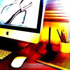 Desktop (Marco Abud) Tags: desktop apple keyboard imac bamboo wacom workflow abud mobileart magicmouse applekeyboard appleimac artmobile nokia5800 bamboowacom applemagicmouse marcoabudfotografia marcoabud abudesigner abudesignerfotografia