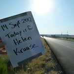 "Today is for Helen Krause <a style=""margin-left:10px; font-size:0.8em;"" href=""http://www.flickr.com/photos/59134591@N00/7984699696/"" target=""_blank"">@flickr</a>"