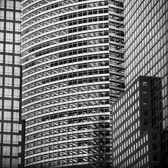 REPETEND (Christopher Lange) Tags: newyorkcity summer blackandwhite abstract film contrast analog geometry fineart grain esplanade lowermanhattan christopherlange