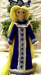 Snow Maiden (2) (McFiberNutt) Tags: thread miniature crochet folklore amigurumi