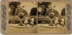 Central Park, New York - 1870s (Aussie~mobs) Tags: newyork vintage centralpark stereoview 1870s