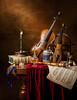 Musical Still Life with the 5 senses. (kevsyd) Tags: stilllife sheetmusic pochette 645d kevinbest dutchstilllife