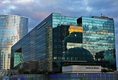 La Dfense (**klaracolor**) Tags: sunset architecture buildings zonsondergang architectuur ladfense gebouwen klaracolor