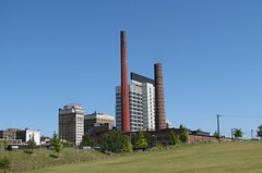 Smoke Stacks (bluerim) Tags: alabama birminghamal railroadpark