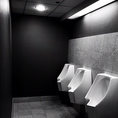 Don't piss me off and tell me this is not minimalism. (Nino.Modugno) Tags: lighting blackandwhite bw square bathroom random squareformat restroom urinate minimalism urinal duchamp crapper iphone urinetown pissmeoff iphoneography instagramapp uploaded:by=instagram