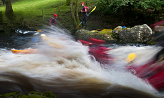 Rapid Riding (Paul Sivyer) Tags: whitewater kayak rapids rafting snowdonia bala tryweryn paulsivyer wildwales