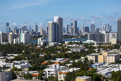 Miami Beach and the Miami Skyline 2012 (Chip Glover) Tags: day miami clear miamibeach miamiskyline