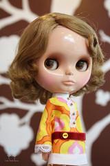 Macaron in Pretty Retro dress.