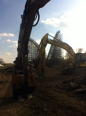 Son of Beast demo (masonbuzzflikr) Tags: mason demolition kingsisland sonofbeast