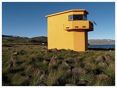 Sléttueyrarviti (czorneboh) Tags: orange lighthouse phare hornstrandir leuchtturm 2012 viti jökulfirðir slétta czornebohphoto sléttunes sléttunesviti sléttueyrarviti