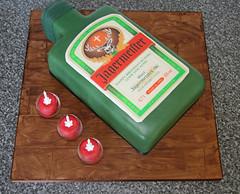 Jagermeister Bottle Cake