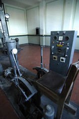 The operator's chair (PimGMX) Tags: heritage abandoned chair industrial lift elevator stoel mijn ruhrgebiet operator stuhl zeche colliery roergebied ruhrpott industriekultur bergwerk zollern zechezollern industrieelerfgoed kolenmijn