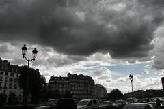 Dark clouds over Paris.