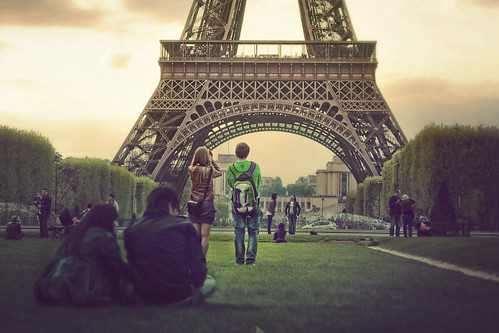 Atardecer en la Torre Eiffel (Explore!) by Juanedc, on Flickr