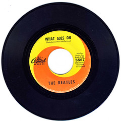 What Goes On (epiclectic) Tags: 1965 beatles 45 epiclectic vintage vinyl record art single retro music collection