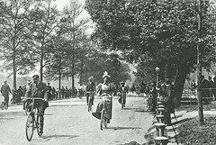 Hyde Park (Leonard Bentley) Tags: hydepark serpentinelake serpentineroad rottenrow cyclingcraze sergeantedwardowen hydeparkpolice hydeparknarratives achillesstatue themagazine 1904 1890s cycling bicycles cannonrow london uk hydeparkcorner