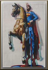 Superman (dietmar-schwanitz) Tags: wittenberg lutherstadtwittenberg superman bild gemlde painting nikond750 nikonafsnikkor24120mmf40gedlightroom photoshopelements dietmarschwanitz