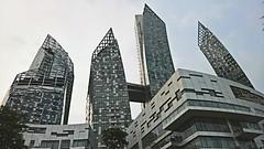 Reflections condo (SmartFireCat) Tags: keppel reflections bay south sur singapore singapur singapura singapour towers torres condominio condominium condo bahía bahia türme tours skyscraper rascacielos sud