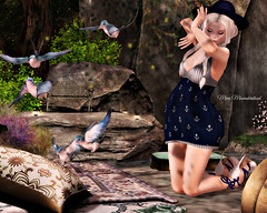 Showcase: Serendipity - Bright Thoughts (mimimisunderstood) Tags: serendipity sl secondlife pose poses fashion emotion