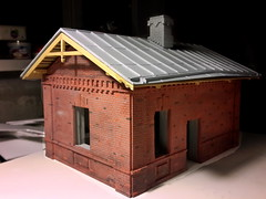 20160821_232925_ (kudrdima) Tags: 125       oldtime  guardhouse railway railroad russia model scaleg spuriim gaugeg gauge1