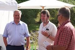 Antti Rinne vieraili festivaalilla