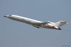 """Raytheon, Boeing 727-200 """"Voodoo One"""" (Ron Monroe) Tags: raytheon boeing 727 voodooone lax klax airliners bizjets businessjets corporatejets n289mt"""